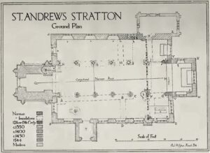 St Andres Church Plan (1919)