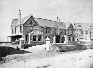 Great Western Hotel, Newquay 1879