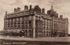 Headland Hotel, Newquay c1910 Architect - Silvanus Trevail