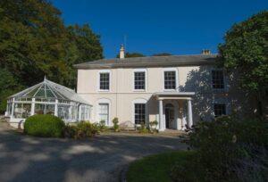 Tullimaar House, Perranarworthal, Cornwall, the former home of Nobel prize-winning novelist William Golding.