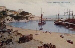 c1918 Newquay Harbour