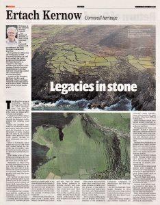 Ertach Kernow - Legacies in Stone