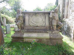 Hawkins Tomb at Probus Church