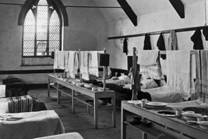 Interior of Probus School, Cornwall. Probably early 1900s - Courtesy RIC