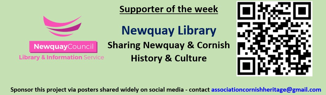Newquay Library Supporter of the week