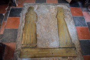 The Wulvedon brass 1512 at Probus