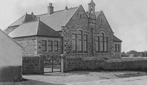 Wesleyan Board School 1900 - Courtesy RIC
